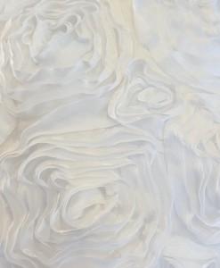 Dozen Roses Satin White