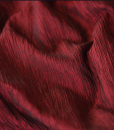 Crushed Taffeta Burgundy