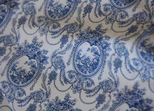 Victorian Blue Toile