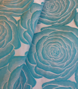 Cabbage Rose Turquoise