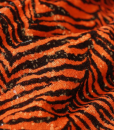 Zebra Sequins Orange