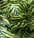 Zebra Sequins Lime
