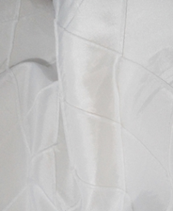 Pintuck White