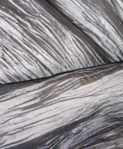 Crushed Taffeta Pewter