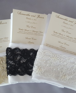 Lace Napkin Band