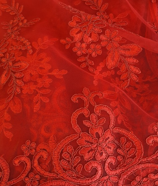 Monarch Lace Red