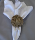 Burlap Flower Napkin Ring