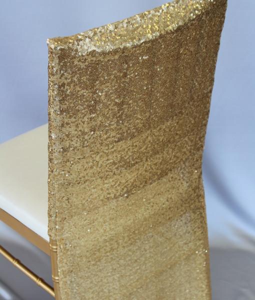 Glitzy Glam Gold Tuxedo Back