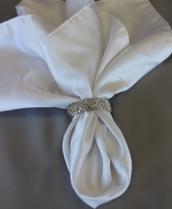 Multi Diamond Napkin Band