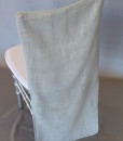 Silver Muslin Tuxedo Back