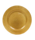 Tripoli Gold Charger Plate