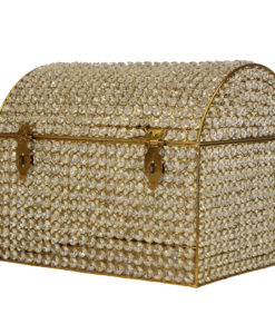 Crystal Gold Money Box