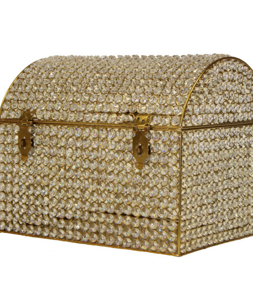 Crystal Gold Money Box