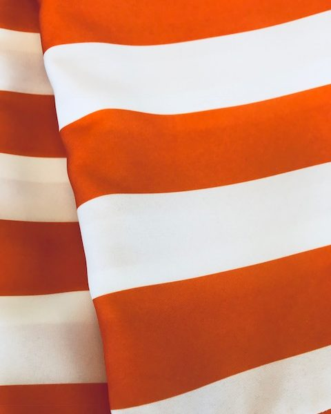 Cadet Stripe Orange