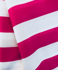 Cadet Stripe Hot Pink