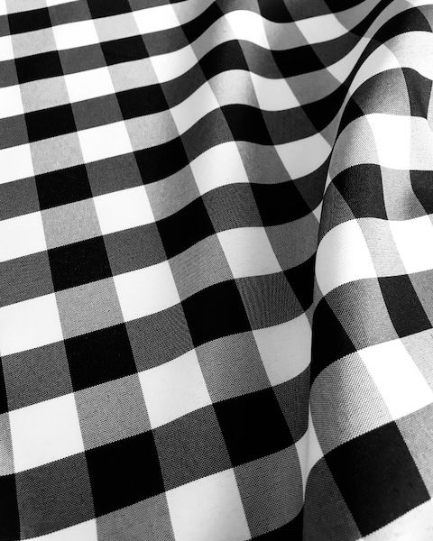 Black and White Check