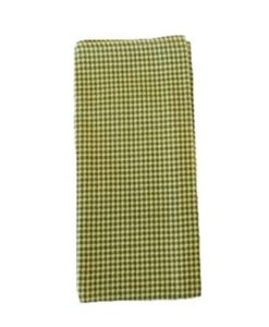 Green Gingham Napkin