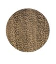 Cheetah Leather Charger Plate